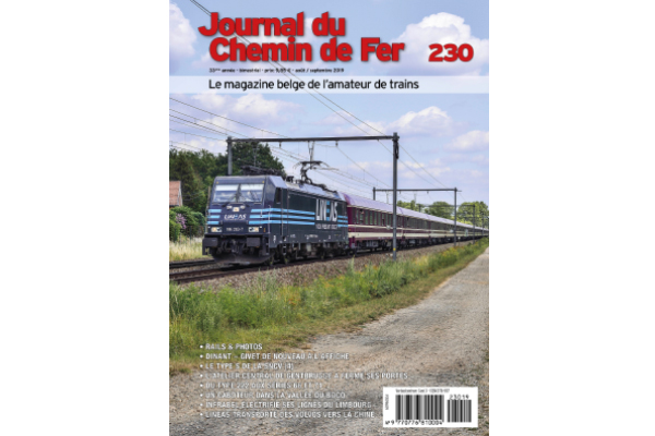 Cover Journal du Chemin de Fer 230