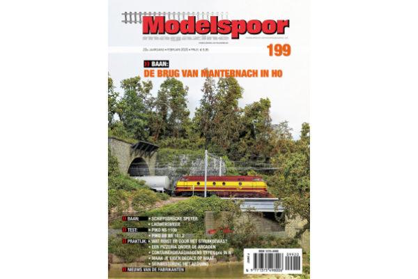 Cover Modelspoormagazine editie 199 - februari 2020