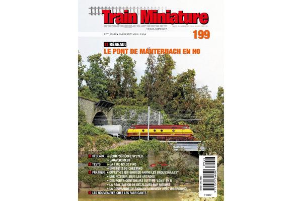 Cover Train Miniature Magazine édition 199 - février 2020