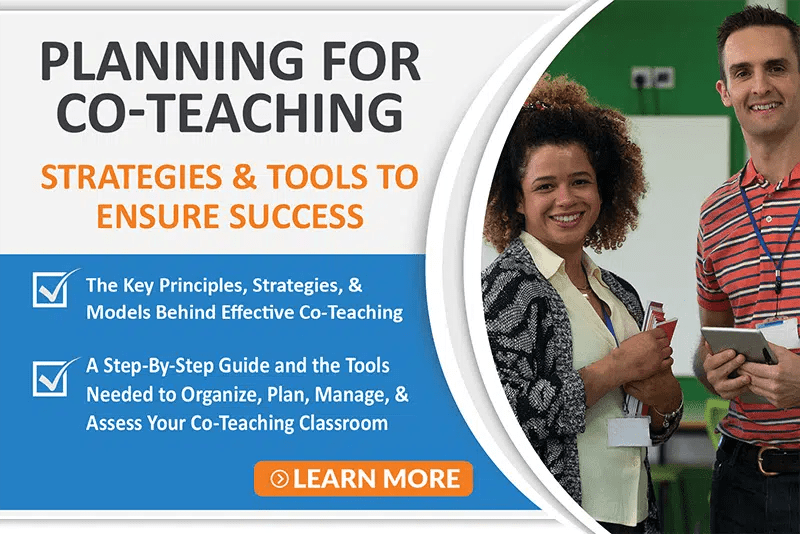 Planning for Co-Teaching Course