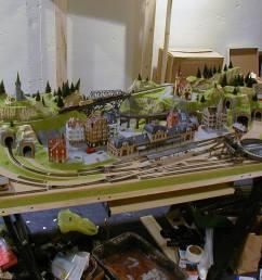 3 x 5 outstanding n scale model train layout image 14 [ 1280 x 960 Pixel ]
