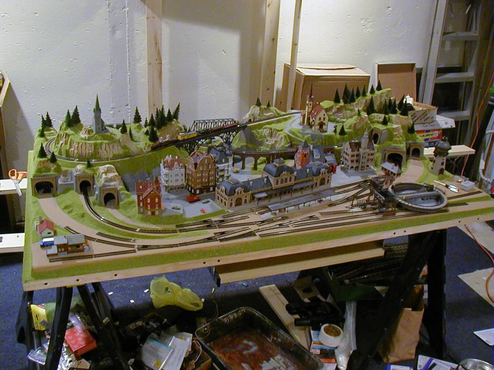 medium resolution of 3 x 5 outstanding n scale model train layout image 14