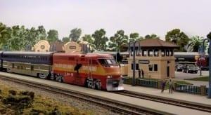 American HO Model Railroad Image 1