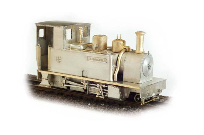 The exquisite La Meuse 2-6-0T in 009 which is available online from Narrow Planet