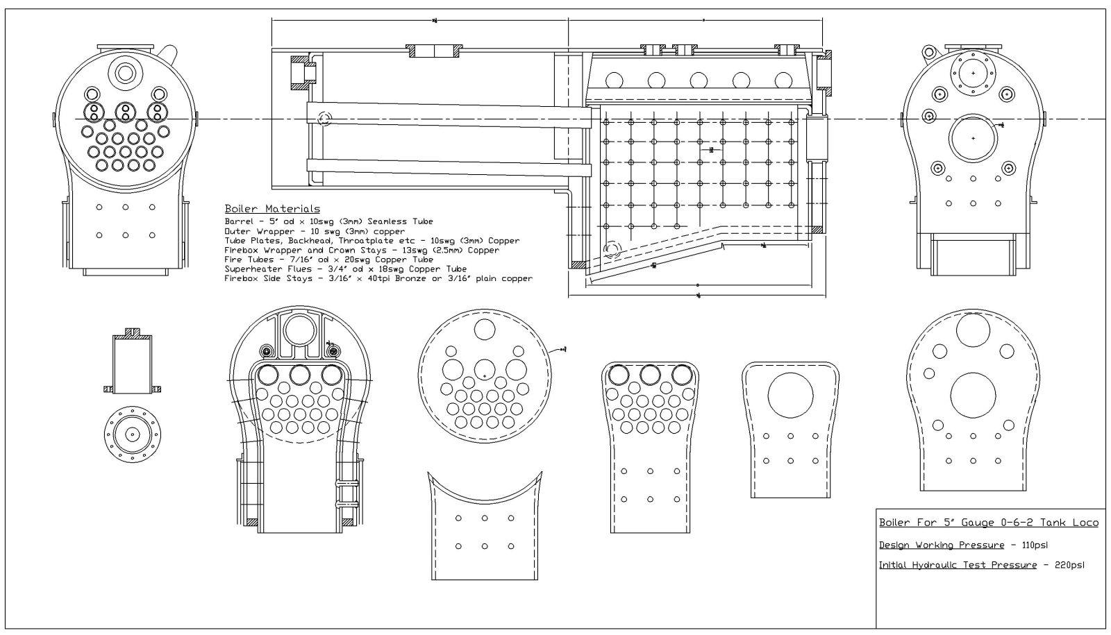 Steam Boiler Model Steam Boiler Plans