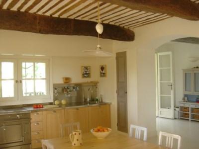 Meilin Bristiel's French farmhouse renovation kitchen