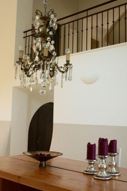 Meilin Bristiel's French farmhouse renovation dinning room