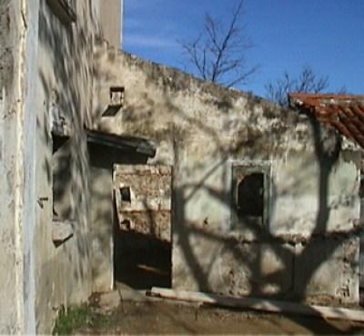 Meilin Bristiel's French farmhouse renovation outside before