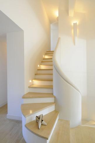 Meilin Bristiel's French farmhouse renovation stairs