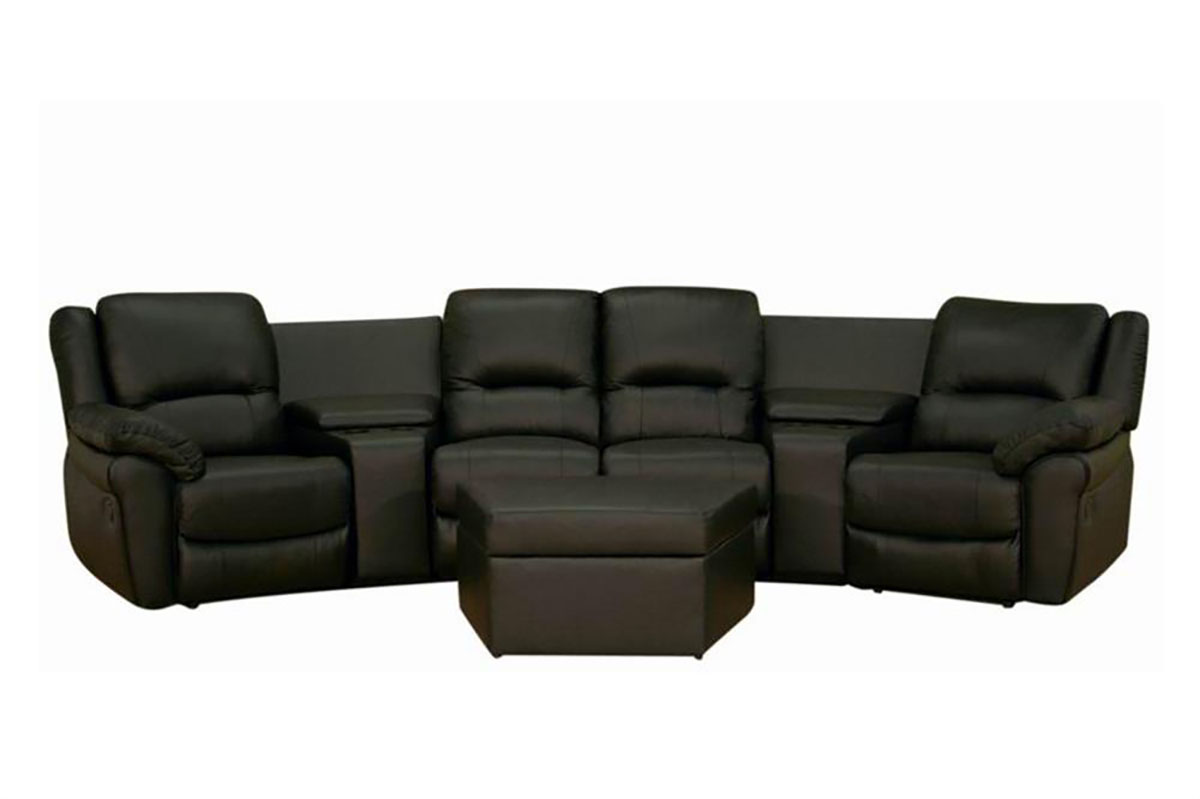 theater seating sofa sleeper fix sagging with plywood home awesome