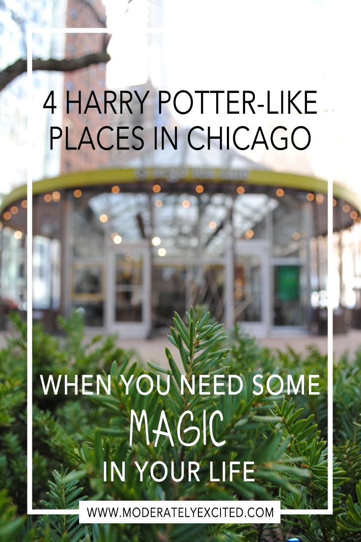 4 Harry Potter-Like Places in Chicago When You Need Some Magic in Your Life