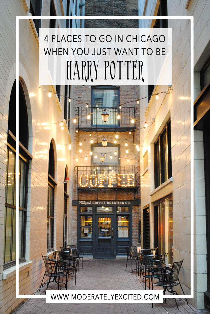 4 Places to Go in Chicago When You Just Want To Be Harry Potter
