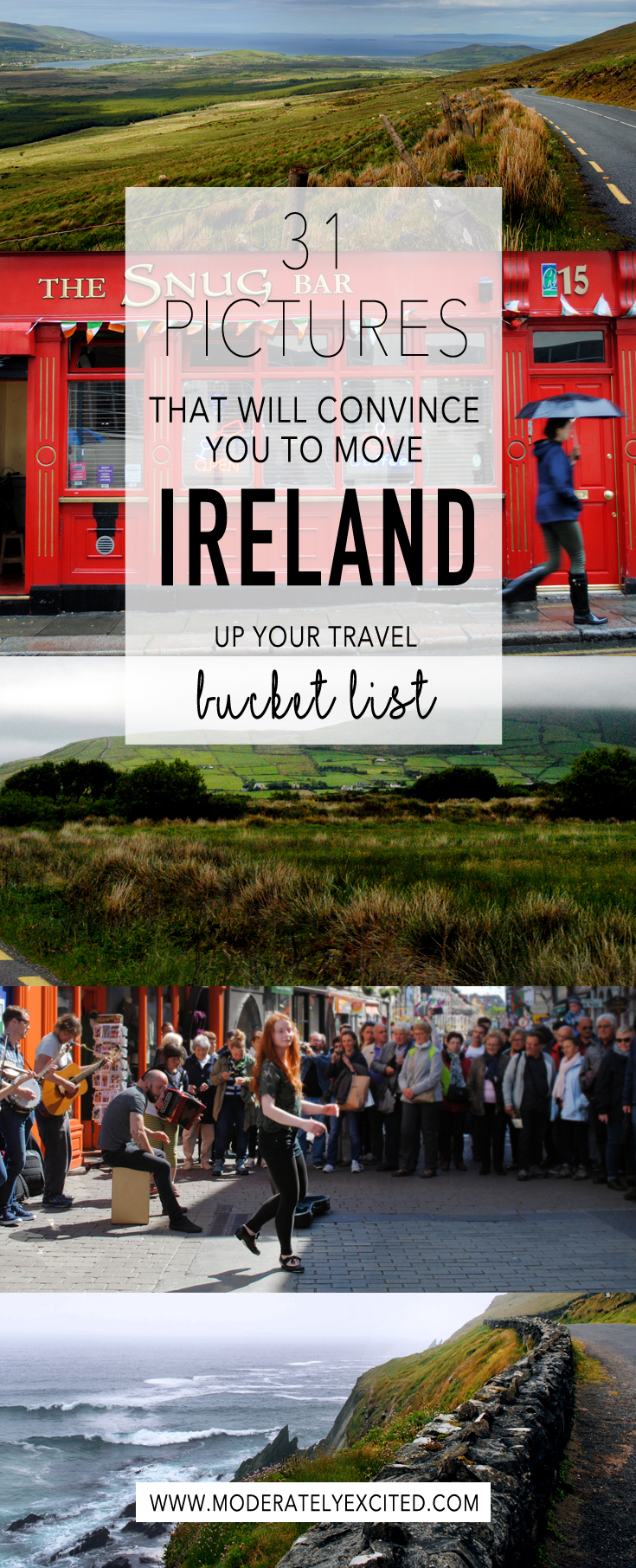 31 pictures that will convince you to move Ireland up your travel bucket list.