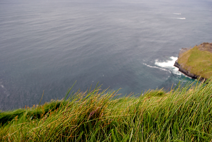 Cliffside at the Cliffs of Moher in Ireland