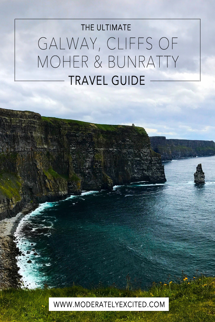 The ultimate Galway, Cliffs of Moher and Bunratty travel guide.