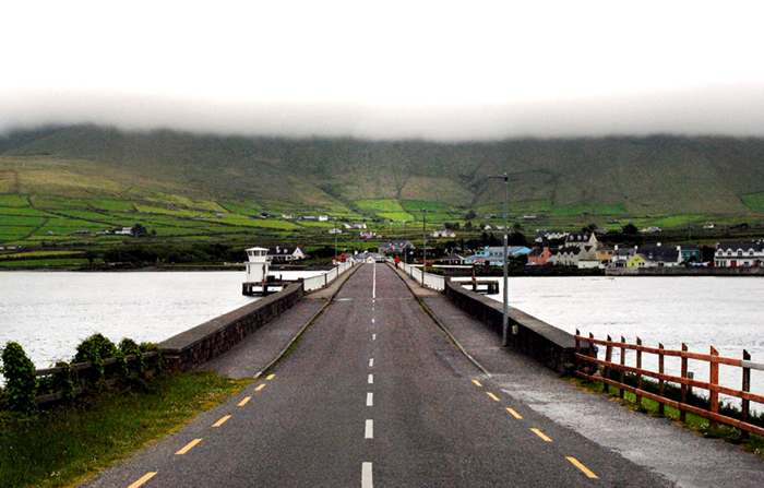 Portmagee drive along the Ring of Kerry in Ireland