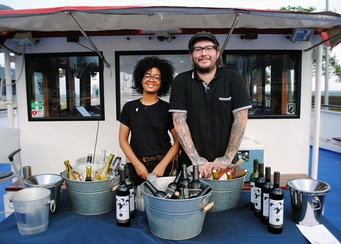 Pastoral wine and cheese shop in Chicago, on Wendella boat tours