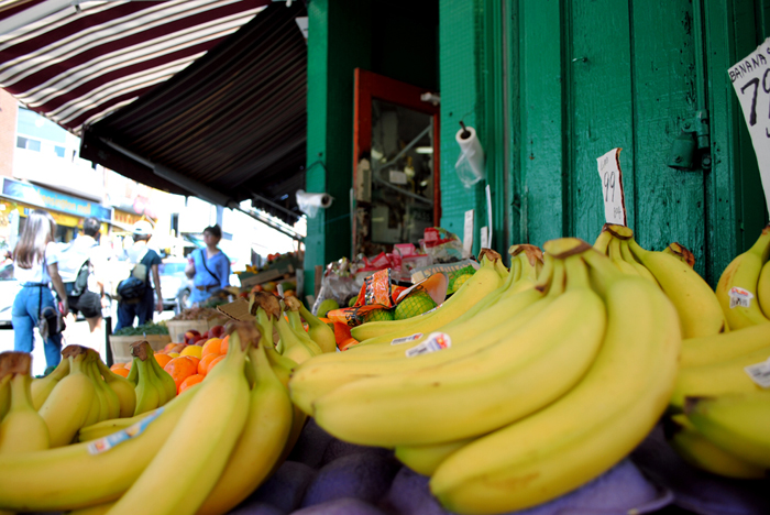 Bananas at the Kensington Market