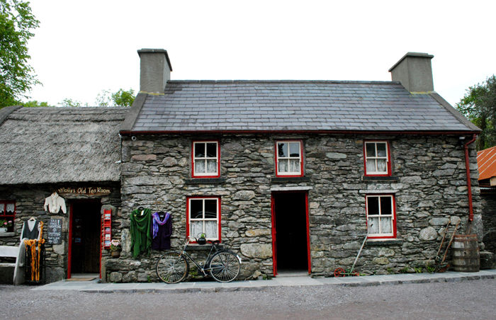 Shop along road in Ring of Kerry