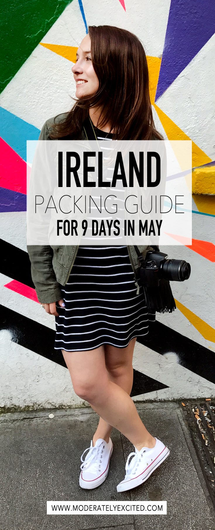 How to pack for Ireland for 9 days in May