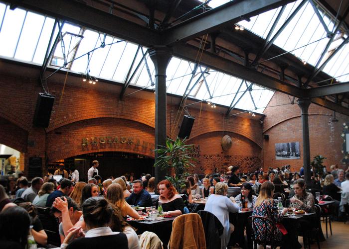 Market Bar tapas restaurant in Dublin