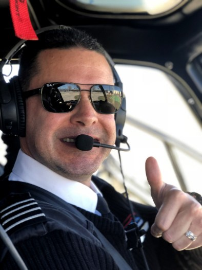 Pilot Jose with Chicago Helicopter Experience