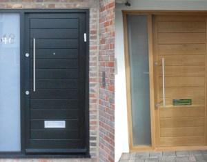 Modern Wood Front Door