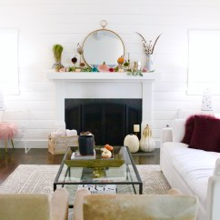 Farmhouse Glam Living Room The Candidate Ad Maker Fall Home Tour Modern Interiors