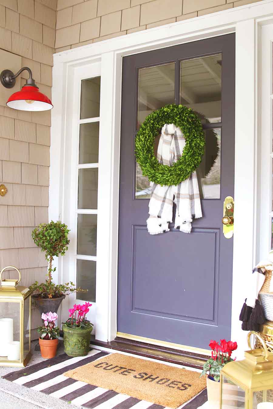 Doormat Layering Guide Amp Porch Decorating Modern Glam
