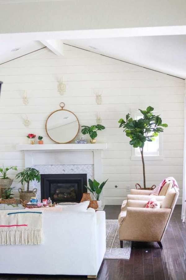 Boho Glam Spring Living Room Home Tour