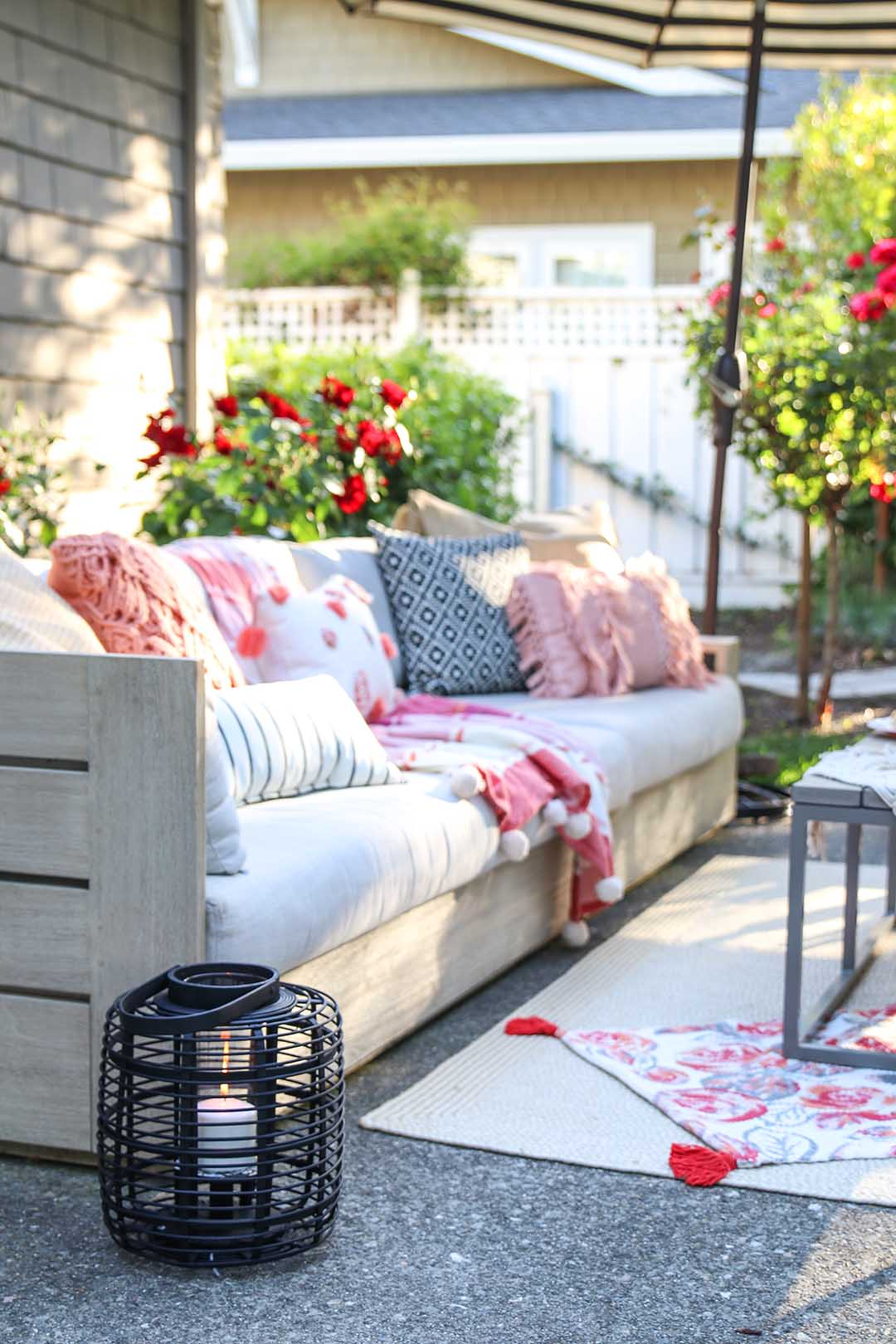 Patio Decorating Ideas 7 Simple Summer Updates  Modern Glam