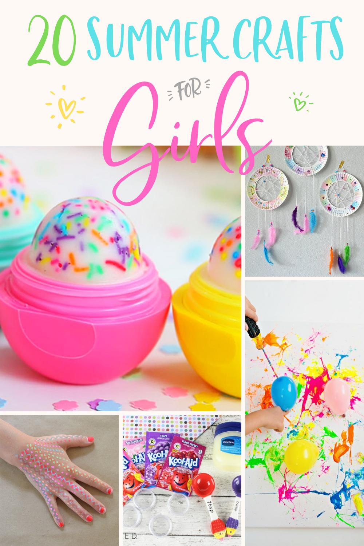 20 Easy Diy Crafts For Girls Modern Glam
