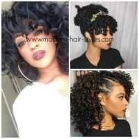Natural hairstyles, for Curly, Wavy and Protective Styling ...