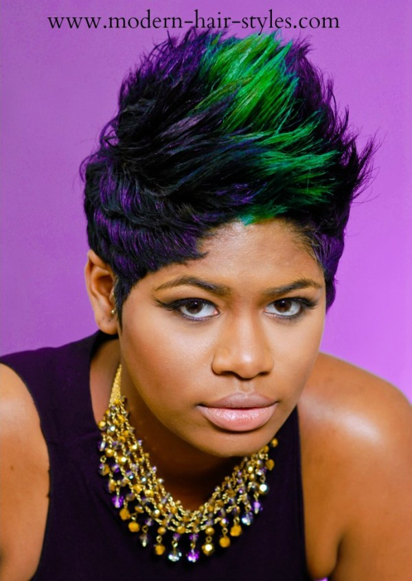 30 Dyed Hairstyles For Black Women Short Bobs Hairstyles Ideas