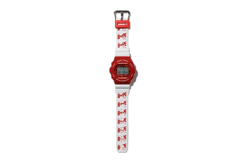 A Bathing Ape x Casio G-SHOCK DW-5750 Watch Collab