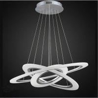 Rings Of Jupiter Modern LED Chandelier  Modern.Place