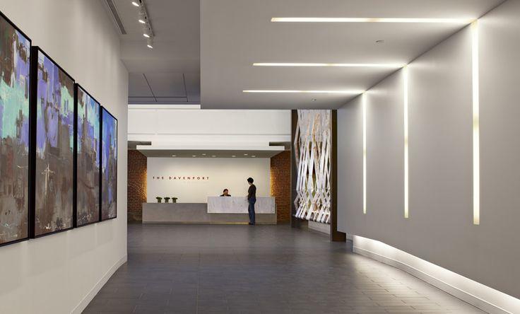 linear office lighting pendant