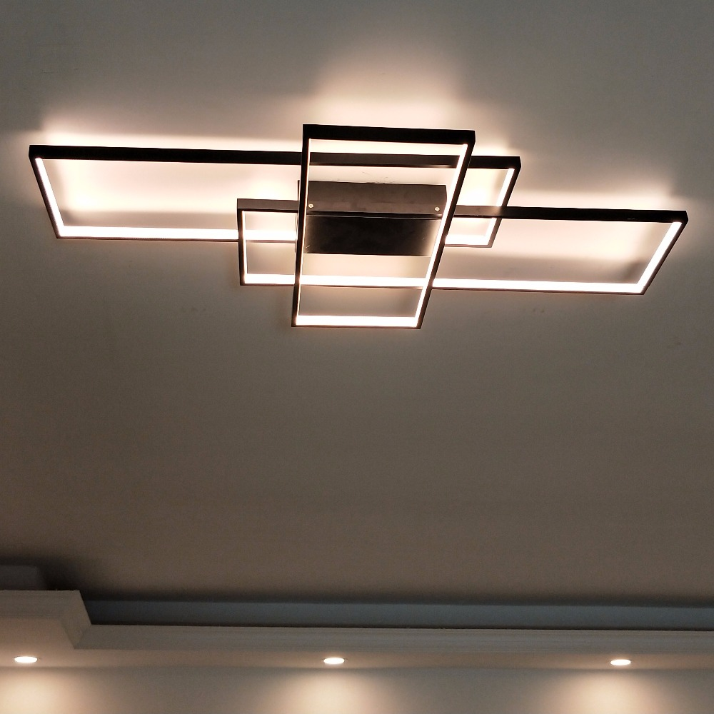 ceiling light fixtures for living room designs apartments in india rectangular modern led blocks place ultra fixture lighting