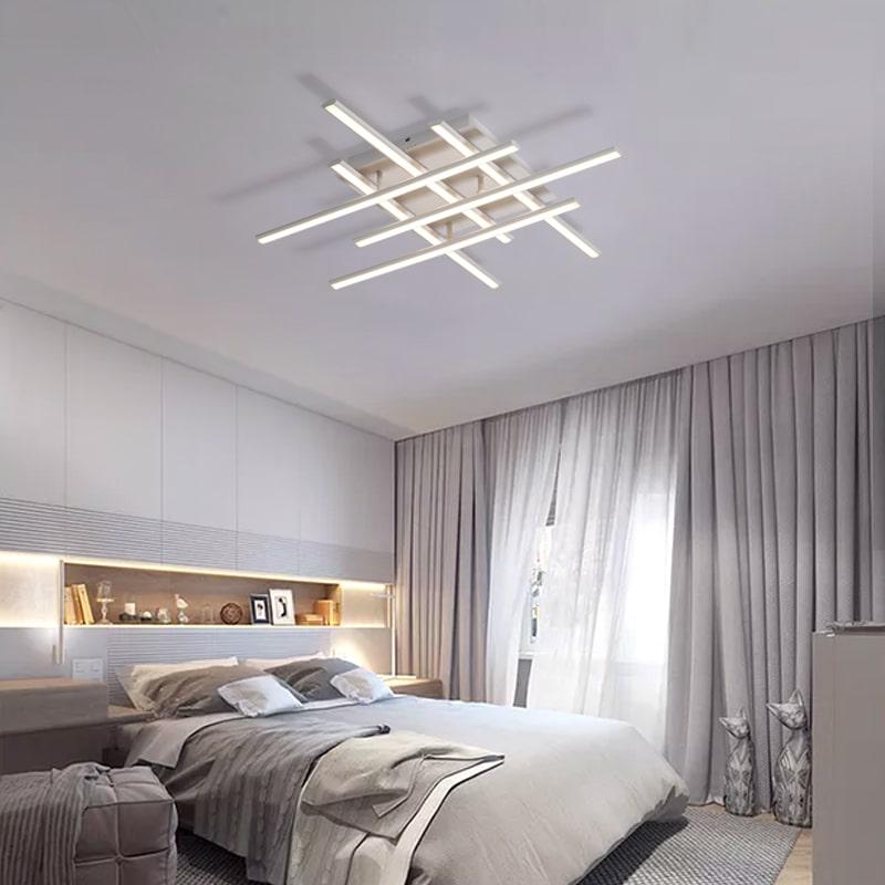 Crossed Lines Modern Ceiling Light  ModernPlace