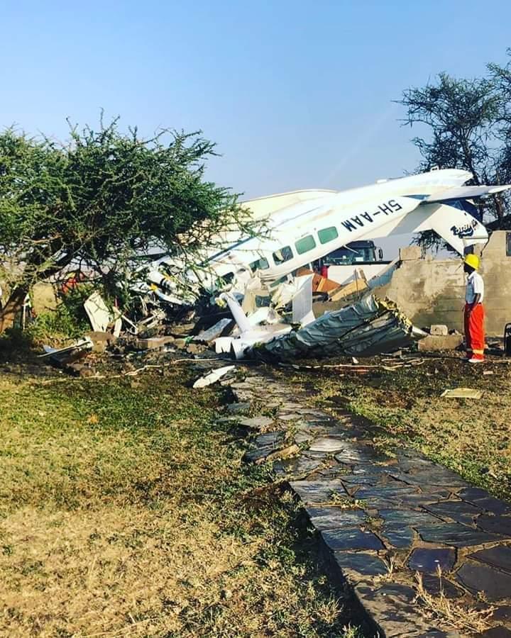 Tanzania Plane Crush