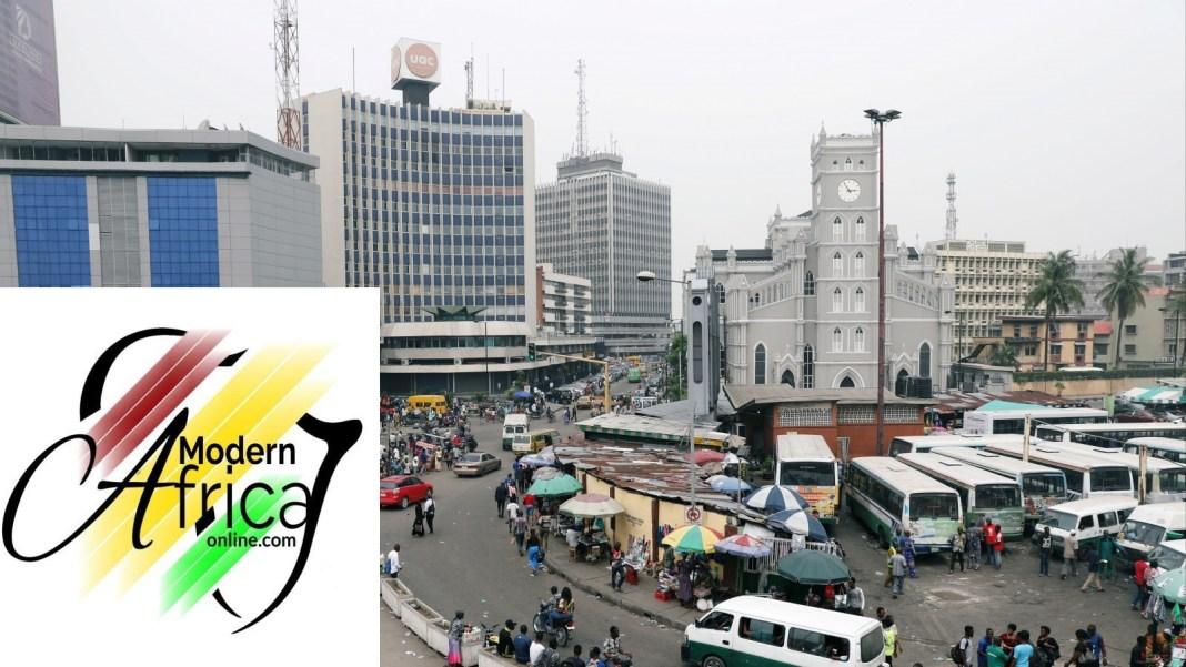 Nigeria-Lagos-Victoria-Island-Urbanization