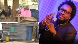 Sonnie Badu comes to the rescue of widowed single mother living in abject poverty