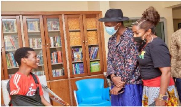 Hollywood actress, AJ Johnson visits Ghana