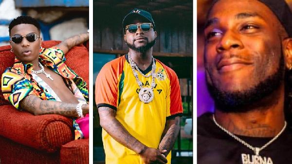 'Victory for Nigeria' - Davido hails Burna Boy, Wizkid's Grammy gong