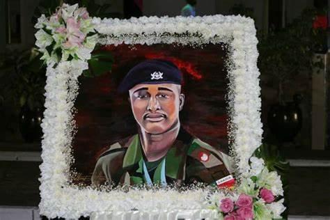 LATEST VIDEO ; Wiyaala pays tribute to late Captain Maxwell Mahama