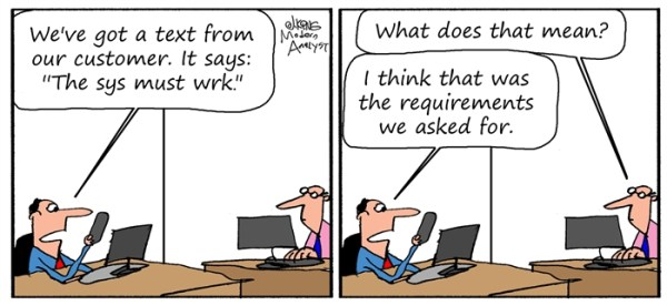 Humor Comics for the Business Analyst