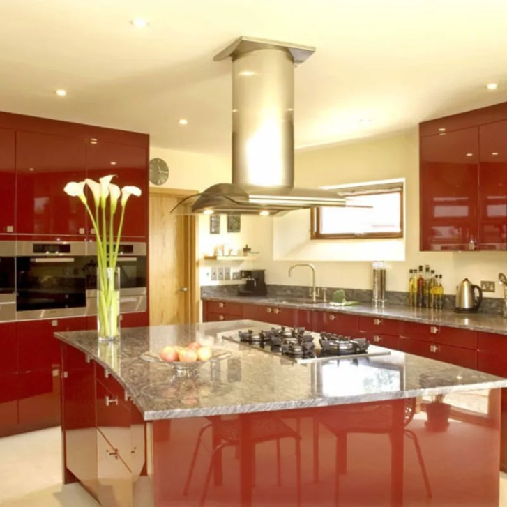 Red Kitchen Decorating Ideas Colourful Design