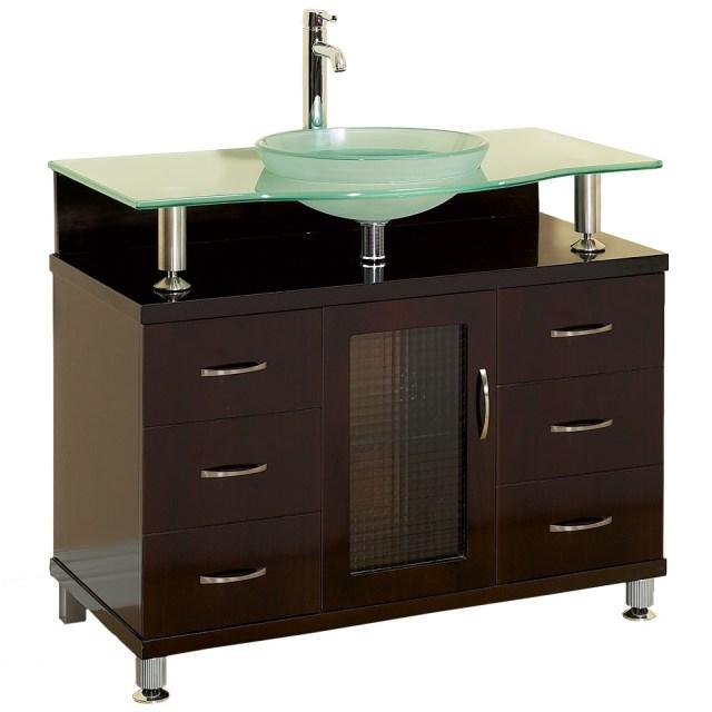 "Charlton 36"" Bathroom Vanity with Drawers - Espresso w ... on {keyword}"