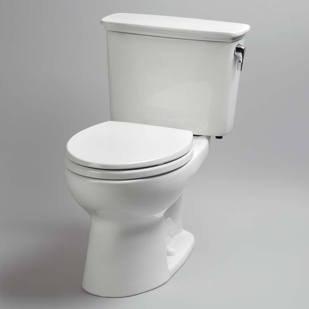 TOTO Eco Drake Transitional TwoPiece Round Toilet 128