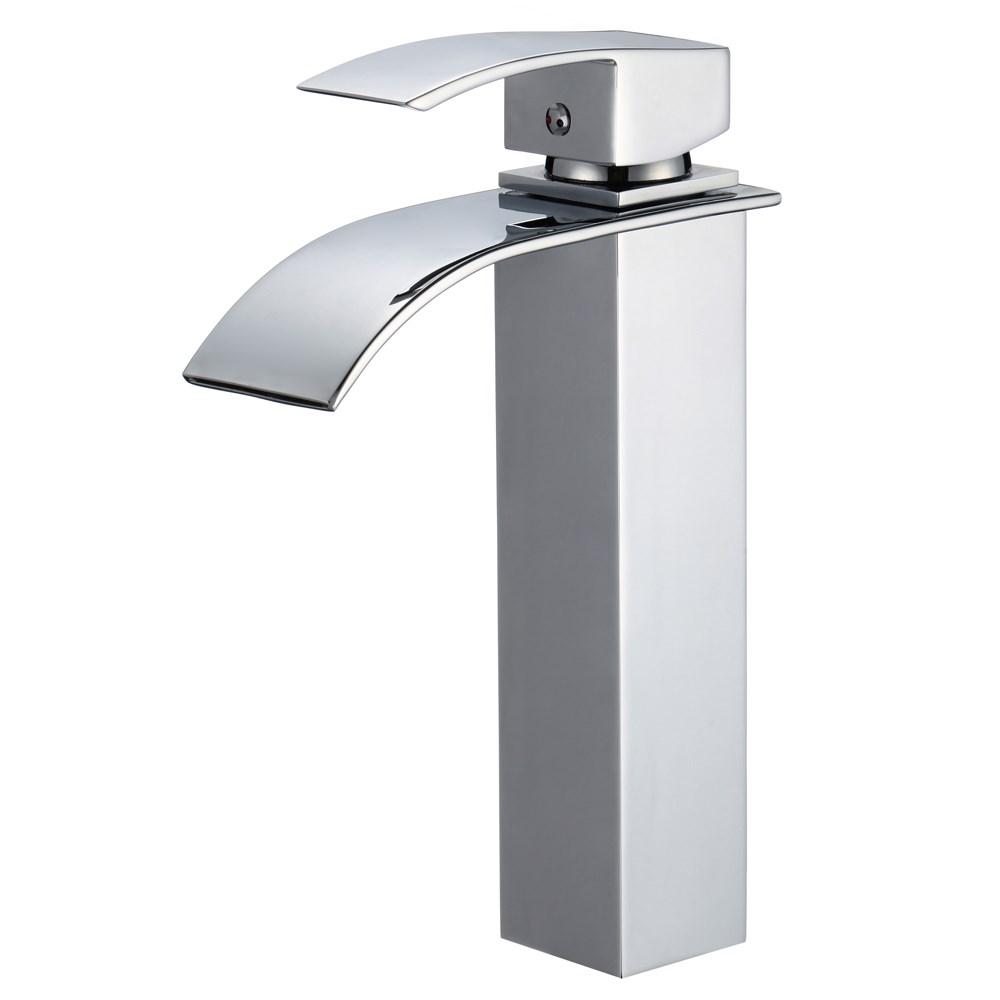 Piatti Tall Contemporary SingleHole Bathroom Faucet